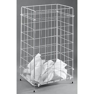 Fripa Objektpapierkorb 2340013 41x63x25,5cm 1Fach Draht weiß