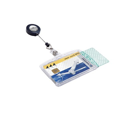 DURABLE Namenschild 822419 85x54mm transparent 10 St./Pack