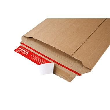 ColomPac Versandtasche Rigid Plus CP010.02 DIN A5 sk Wellpappe braun