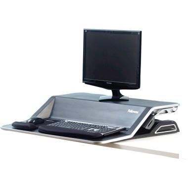 Fellowes Sitz-Steh-Workstation Lotus 0007901 schwarz