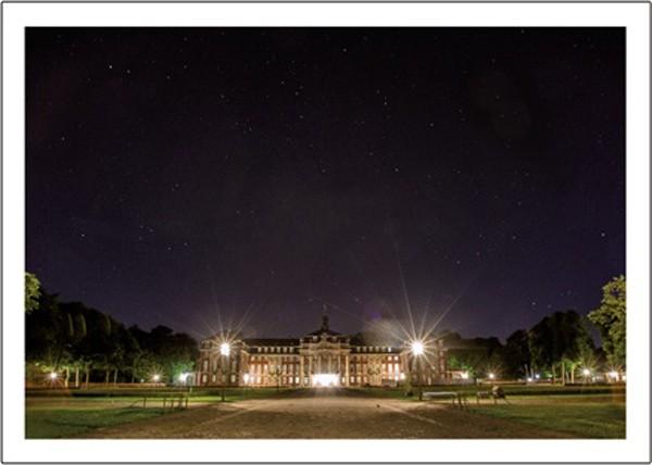 """Postkarte """"Schloss bei Nacht"""""""