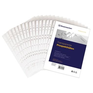 Soennecken Prospekthülle 15030 DIN A4 PP transparent 100 St./Pack.