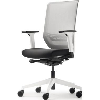 Trend Office Drehstuhl to-sync work mesh SC 9242/pro white Arml. ws