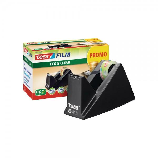 tesa® Promo Pack - 1 x tesa® Easy Cut Economy Tischabroller ecoLogo