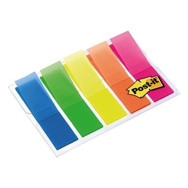 Post-it Haftstreifen Index Mini 683HF5 leuchtfarben 5 St./Pack.