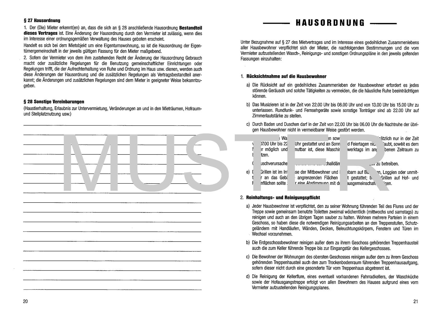 Buschmann Mietvertrag Din A5 Buschmann Buschmann Büromaterial