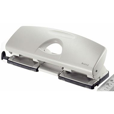 Leitz Doppellocher 50120085 max. 25Blatt Metall grau