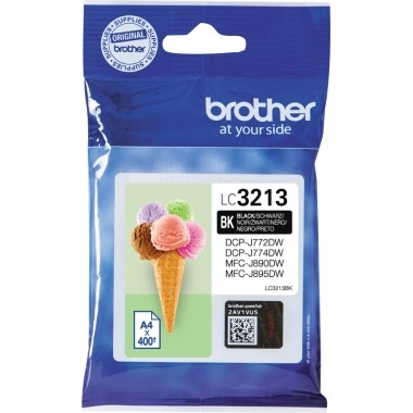 Brother Tintenpatrone LC3213BK schwarz