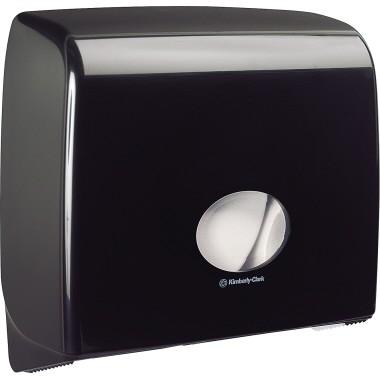 Aquarius Toilettenpapierspender 7184 Midi Jumbo Non-Stop schwarz