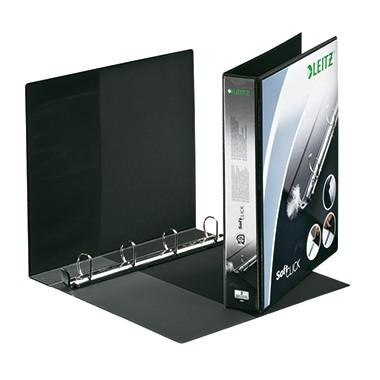 Leitz Präsentationsringbuch SoftClick 42020095 DIN A4 52mm sw