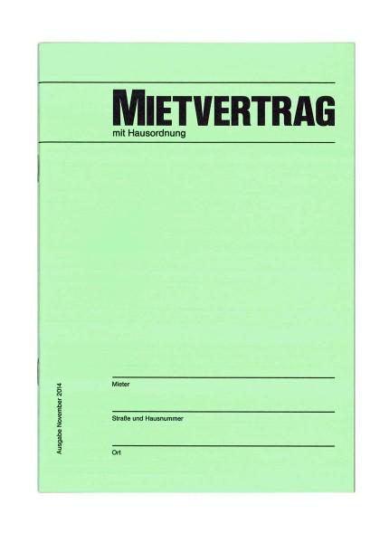 Buschmann Mietvertrag, DIN A5 - Front