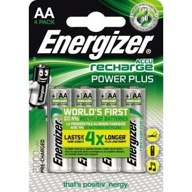 Energizer Akku Recharge PowerPlus E300626600 AAA/HR3 4 St./Pack.