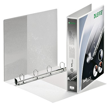 Leitz Präsentationsringbuch SoftClick 42020001 DIN A4 52mm ws