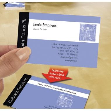 Avery Zweckform Visitenkarte C32015 10 Din A4 10 St Pack