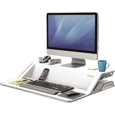 Fellowes Sitz-Steh-Workstation Lotus 0009901 weiß