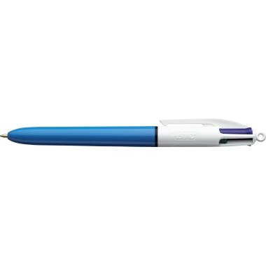 BIC Mehrfarbkugelschreiber 4 Colours 889969 0,32mm bl/sw/r/gn