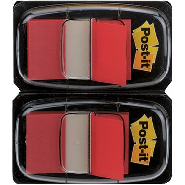 Post-it Haftstreifen Index Standard 680-RD2 50Blatt rot 2 St./Pack