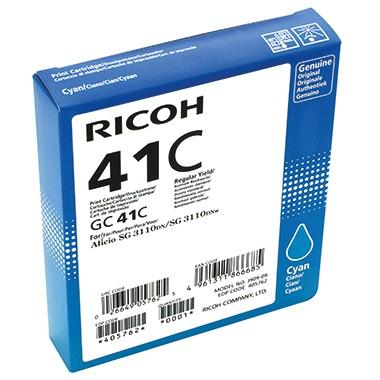 Ricoh Gelpatrone 405762 GC-41C 2.200Seiten cyan