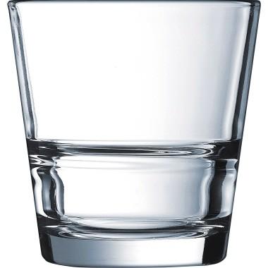 Arcoroc Trinkglas STACK UP 410-878 0,26l glasklar 6 St./Pack.