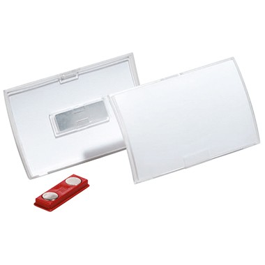 DURABLE Namensschild Click Fold 821519 90x54mm tr 10 St./Pack.