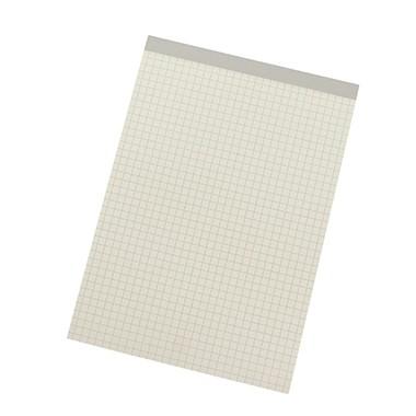 50 Blatt 70g Briefblock Schreibblock Notizblock A4 kariert weiss recycling