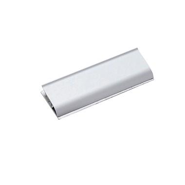 MAUL Papierklemmschiene 6246608 DIN A6 Aluminium matt silber