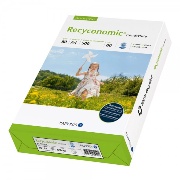 Papyrus - Recyconomic TrendWhite Kopierpapier - DIN A4, 80g