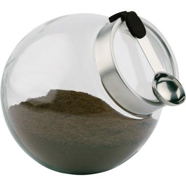 APS Vorratsdose 636 Durchmesser 20cm 3l Glas +Löffel