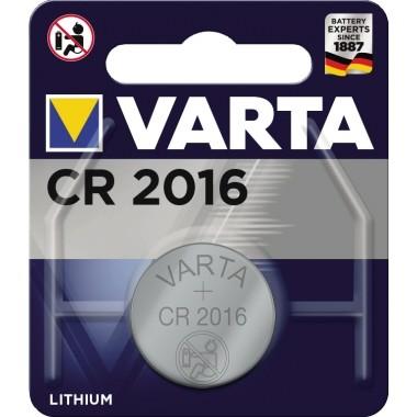 Varta Knopfzelle 06016101401 CR2016 3V 90mAh Lithium